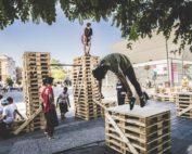 Pasión, arte y cultura urbana enmarcados con palés EPAL