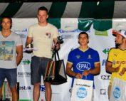 David Llorente recoge la medalla de bronce en la copa del mundo de slalon